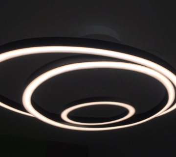 Ellipse luminaire led