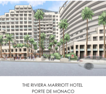 The riviera Marriott hotel
